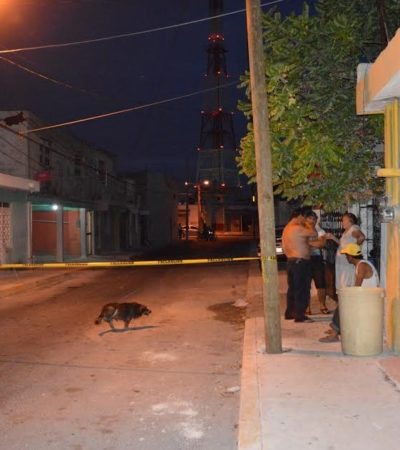 INSEGURIDAD EN CANCÚN: Matan de una puñalada a un hombre durante un asalto en la Región 66; otro, herido