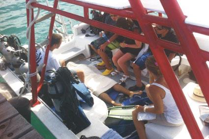 SE EMPAÑAN VACACIONES EN ISLA MUJERES: Muere ahogado joven turista peruano durante sesión de buceo