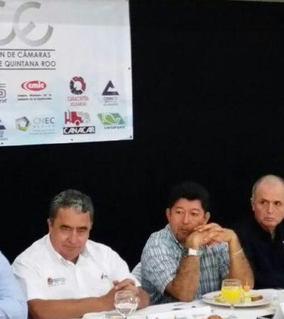 Se reúne Mendicuti con la cúpula empresarial en Cancún para garantizar resultados contra la inseguridad en QR