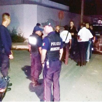 Premiarán a policía herido de un machetazo al impedir asalto en Chetumal