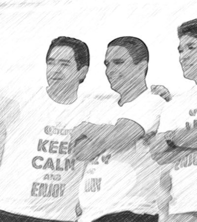 JUEGO DE SILLAS   Félix abraza a 'Chanito' Toledo y a Raymundo… y se olvida de Mauricio