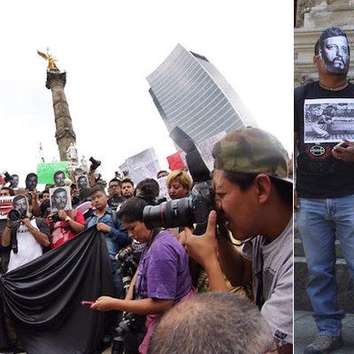 """""""NOS SENTIMOS MÁS VULNERABLES AHORA"""": Exigen aclarar asesinato del fotorreportero Rubén Espinoza y 4 mujeres en el DF; responsabilizan a Duarte"""