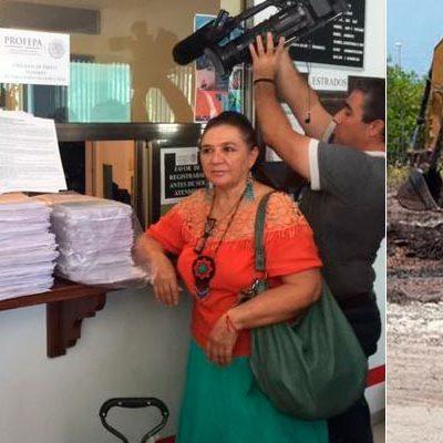 DENUNCIAN A FONATUR POR DEVASTACIÓN EN MALECÓN TAJAMAR: Reconoce Profepa que responsables no exhibieron permisos para proyecto