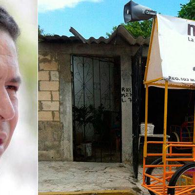 CAMPAÑA TRICICLETERA DE GREG PARA METERSE A MORENA: Promueve ex Alcalde afiliación masiva al partido de AMLO para buscar candidatura