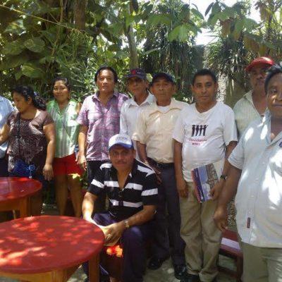 EL GOBIERNO DESDE ABAJO: Pobladores de Laguna Kaná eligen a su propio delegado y se lo informan al Ayuntamiento de FCP