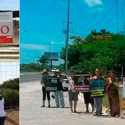 """""""VAMOS A CONTINUAR LA LUCHA"""": Piden clausura permanente en Malecón Tajamar y fincar responsabilidades por ecocidio"""