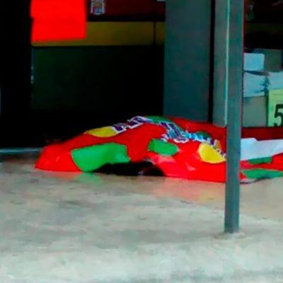 EJECUTAN A BALAZOS A UN HOMBRE EN PLAZA CANCUN MALL: Empistolados disparan contra velador de una purificadora