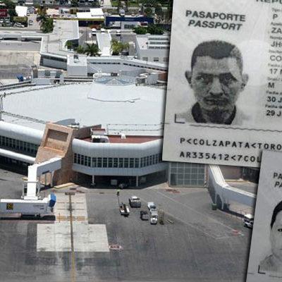 Dan formal prisión a pareja de 'mulas' colombianas detenida en aeropuerto de Cancún