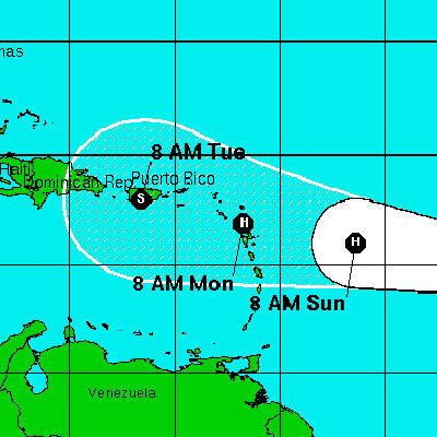 SE CONVIERTE 'DANNY' EN HURACÁN Y AVANZA HACIA EL CARIBE: Ciclón se fortalece con rapidez, pero podría volver a perder fuerza  en las Antillas