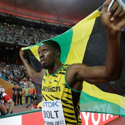 USAIN BOLT SIGUE IMBATIBLE: El jamaiquino gana el título de los 100 metros en el Mundial de Atletismo de Pekín