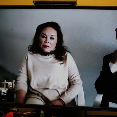 LA REAPARICIÓN DE LA MAESTRA: En video conferencia desde prisión, Elba Esther Gordillo pide se respeten sus derechos