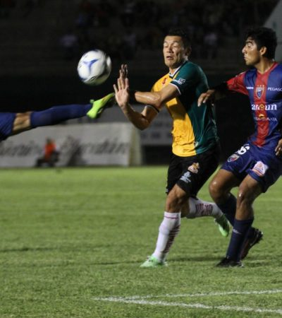 EMPATE EN EL CLÁSICO PENINSULAR: Venados alcanza a Atlante y terminan igualados a dos goles