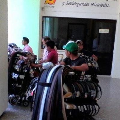 'Levantan' inspectores municipales a vendedores indígenas en Chetumal