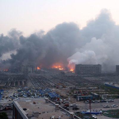 Sube a 50 muertos el número de víctimas por explosión en planta química en China; hay 700 hospitalizados