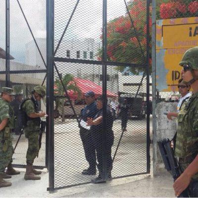 SANGRIENTA RIÑA EN LA CÁRCEL DE CANCÚN: Fuerte movilización policiaca; confirman al menos 12 heridos, varios de ellos graves