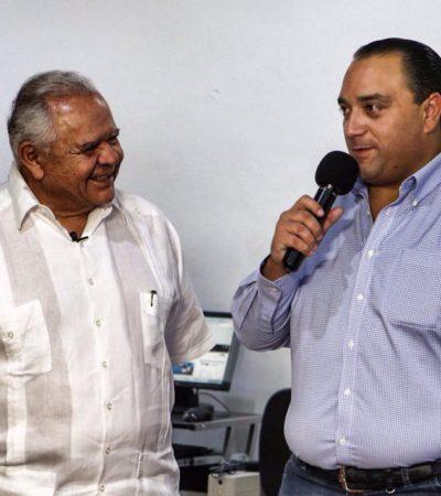 LOS TOLEDO, SOLDADOS DEL PRI: Inaugura Borge nuevas instalaciones del Canal 10 Promovisión en Cozumel