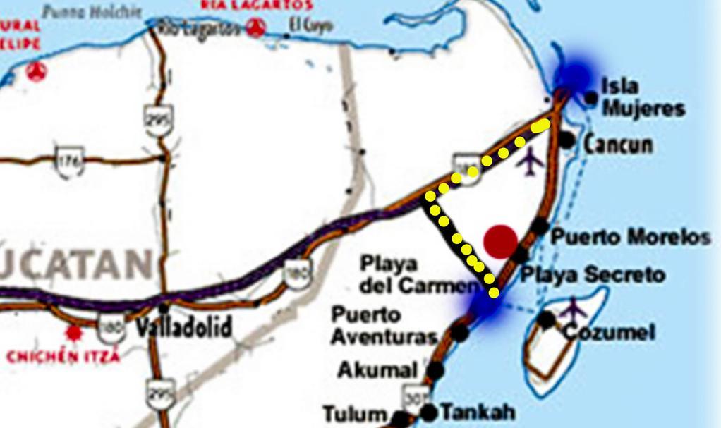 COLAPSA CARRETERA CANCÚN-PLAYA: Hundimiento incomunica a destinos turísticos de QR; quitan cuota en vía alterna Nuevo Xcan-Playa