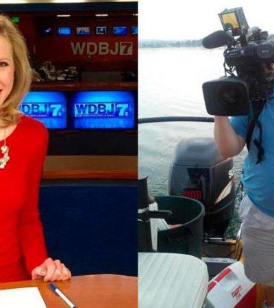 ASESINAN A PERIODISTAS EN EU: Matan a tiros a reportera y camarógrafo durante transmisión en vivo en Virginia