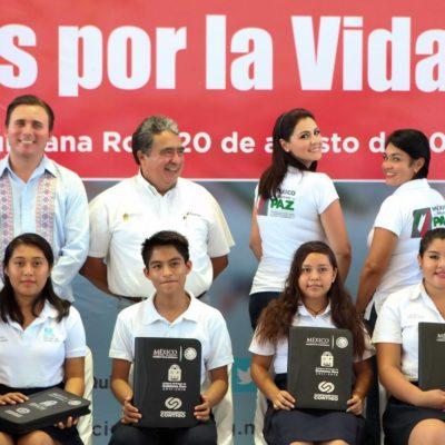 Buscan prevenir suicidios y embarazo adolescente en Playa del Carmen