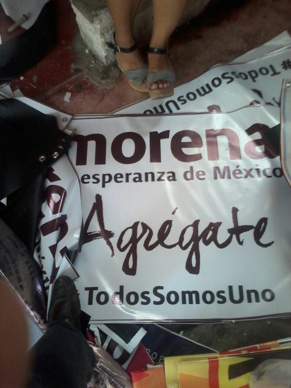 MADRUGUETE DE 'GREG' EN MORENA: Descubren propaganda de ex Alcalde para buscar candidatura a la gubernatura por el partido de AMLO