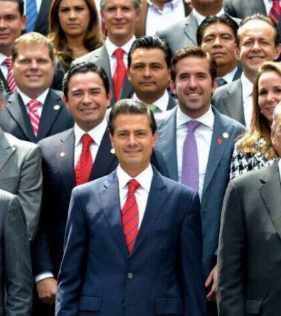 DICTA PEÑA 'LÍNEA' A NUEVOS DIPUTADOS: Pide el Presidente a priistas y 'verdes' sacar adelante leyes secundarias en el Congreso