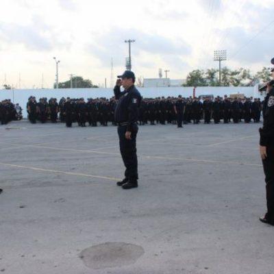 CONSUMAN RELEVO EN LA POLICÍA DE BJ: Asume Jaime Alberto Ongay el puesto que le quitaron a Mendiola