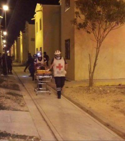 Enfrentamiento entre policías y presuntos pandilleros deja un saldo de un agente herido y un hombre baleado en Villas Otoch