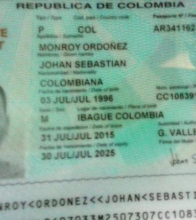 Atajan en aeropuerto de Cancún en un vuelo de Panamá a 2 colombianos con casi un kilo de cocaína