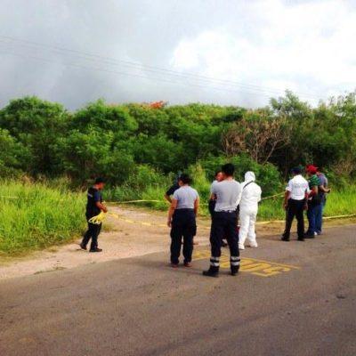 Aún no identifican a mujer asesinada cerca de Calderitas; fue estrangulada, pero murió por golpes