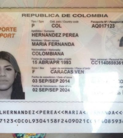 Lanzan a 2 mujeres colombianas de un taxi en Cancún