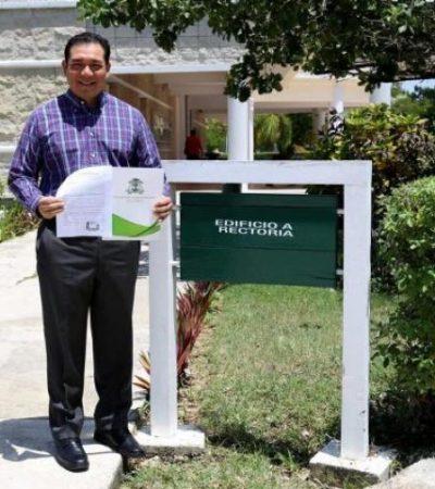 IMPONEN A RECTOR EN LA UQROO: Ángel Rivero Palomo, un ex funcionario borgista, sustitituye a Elina Coral