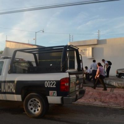 Roban caja fuerte de empresa galletera Dondé en Chetumal