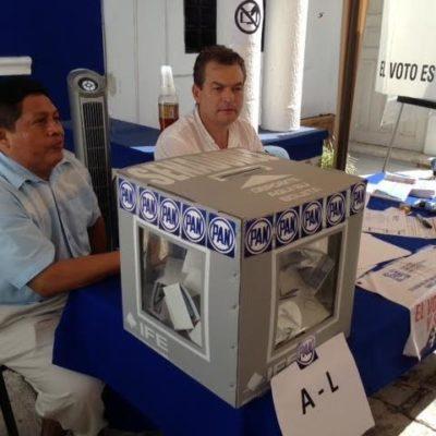 Con mil 25 votos contra 444, Ricardo Anaya le ganó a Corral en la elección del PAN en QR