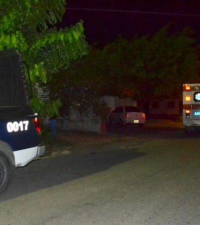 INSEGURIDAD EN CHETUMAL: Sufre anciano de 83 años violento asalto en su propia casa
