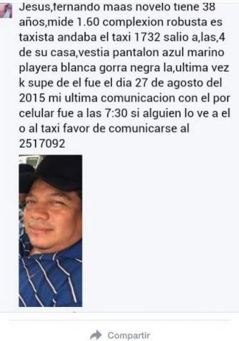 Suman 3 taxistas desaparecidos en Cancún; presumen ajuste de cuentas entre narcos