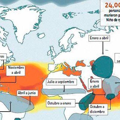 EL PODEROSO 'NIÑO' QUE SE ACERCA: Advierten que el fenómeno climatológico provocará este año fuertes alteraciones en todo el mundo