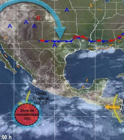 Anticipan posible formación de ciclón en el Pácifico; mar de fondo prevalecerá, confirman