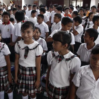 Reiniciarán clases casi 420 mil alumnos en Quintana Roo, 2.2% más que el ciclo escolar anterior