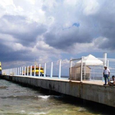 ¿MÁS VALE TARDE QUE NUNCA?: A casi 10 años de su irregular construcción, dice Profepa que analiza demoler el muelle de Ultramar en Playa del Carmen
