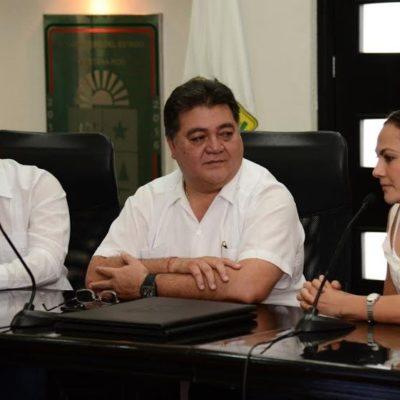BUSCAN 'AMARRAR' AGENDAS: Se reúnen legisladores locales con diputados federales electos