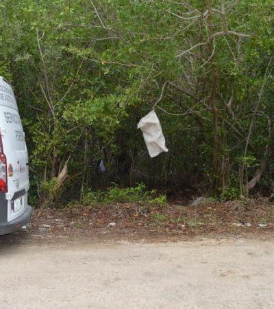 RESTOS HUMANOS ENTRE EL MANGLAR: Encuentran 3 bolsas con 101 huesos de persona presuntamente asesinada hace un año en Cancún