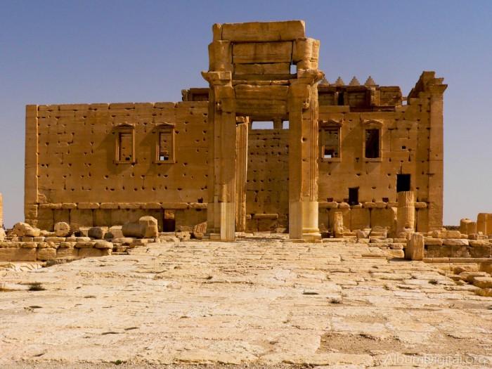 Dinamita el Estado Islámico el templo de Baal en las ruinas de la ciudad siria de Palmira