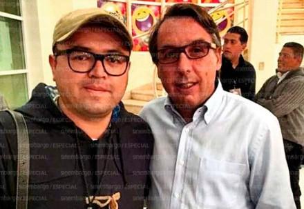 El empleado de Televisa barrió con medios para 'limpiar' la imagen de Herrera y Rubalcava
