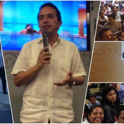 ¿MIEDO A CARLOS JOAQUÍN?: Clausura Paul Carrillo evento de jóvenes en Cancún donde se presentaría el subsecretario de Turismo