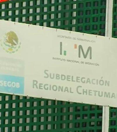 Se fugan tres indocumentados cubanos de estación migratoria en Chetumal
