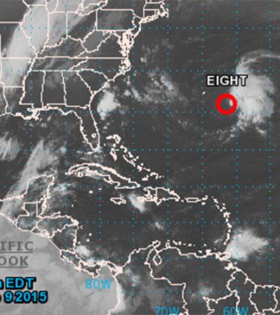 MONITOREO EN EL ATLÁNTICO: Se forma una nueva depresión tropical muy lejos de las costas de QR