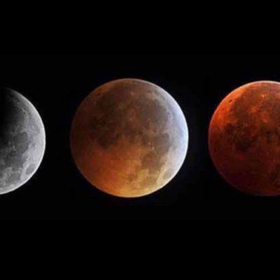SUPER LUNA DE SANGRE EN DOMINGO: Hoy, eclipse con la mayor Luna llena del 2015 en tono rojizo; lluvias previstas en la península de Yucatán, único obstáculo