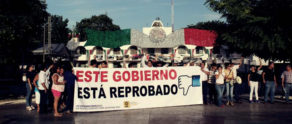 """""""INFORME LLENO DE MENTIRAS"""": Descalifica PRD dichos del Alcalde Paul Carrillo y 'clausura' el Ayuntamiento en Cancún"""
