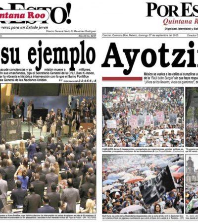 CAMBIA POR ESTO!: El periódico de mayor circulación en QR modifica logo y slogan