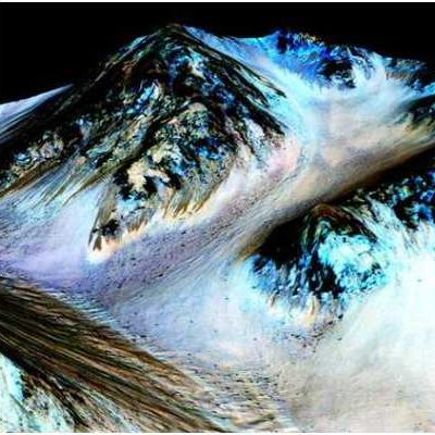 FLUYE AGUA EN MARTE: Confirma la NASA evidencia del vital líquido en ciertas épocas del año sobre la superficie del planeta rojo